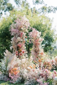 This Couple's Floral Arch Stole the Show at Their Backyard Micro Wedding Wedding Arch Flowers, Floral Wedding, Wedding Bouquets, Wedding Ceremony, Wedding Arches, Tent Wedding, Arco Floral, Floral Arch, Floral Foam