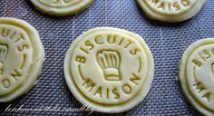 Biscuits maison stamp for cookies