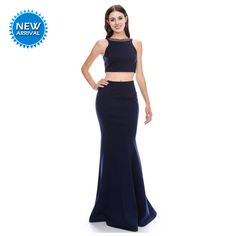 Plum Prom Dresses, Prom Dresses For Sale, Formal Dresses, Crop Top And Shorts, Crop Tops, Fitted Skirt, Sleeveless Crop Top, Mauve, Linens