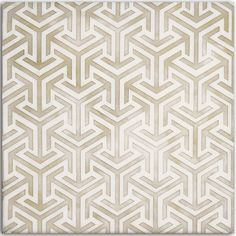 Interlude Pattern in Taupe on Carrara