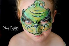 The Grinch by Daizy Design Face Painting - Daizy Design