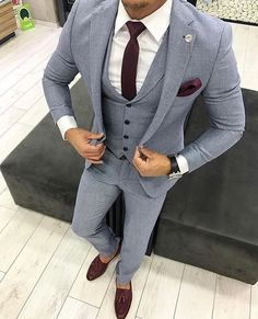Mens Fashion Casual – The World of Mens Fashion Best Suits For Men, Cool Suits, Indian Men Fashion, Mens Fashion Suits, Mens Suits, Womens Fashion, Classy Suits, Classy Style, Blazer Outfits Men