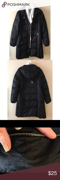 Michael Kors Winter Jacket This coat has been so good to me the past two years. Definitely worn but still super warm and cute. Small hole near the zipper, zipper is also broken. KORS Michael Kors Jackets & Coats Puffers
