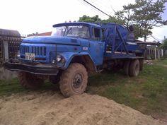 Russian truck in Laos