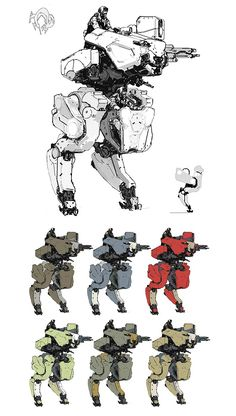 Concept artist and illustrator A.J. Trahan has posted some of the concept art he created for Metal Gear Online. A.J. has also worked on video game titles such as Halo 4, Epic Mickey and BlackSite: Area 51.
