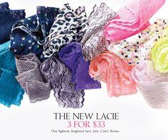 Victoria's Secrets Lacie panties.  #MyVSFallEdit