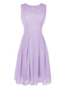 Melantha Short Prom Bridesmaids Cocktail Party Evening Formal Gown Dress Size 10 Lavender
