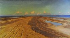 The Beach in Skagen - Johan Krouthén - The Athenaeum Ludwig, Realistic Paintings, Skagen, The Locals, Norway, Country Roads, Fine Art, Landscape, Painters