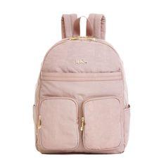 Tina Laptop Backpack - Antique Rose Combo | Kipling