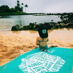Keiki Livin the dream lucky we live Hawaii moments with @electric_ocean_jewelry #luckywelivehawaii