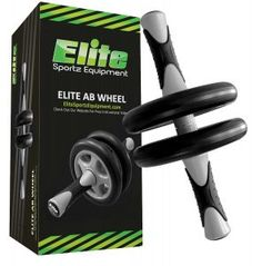 The Elite Sportz Equipment Ab Wheel Roller Pro is a revolutionary exercise roller that allows you to target and tone your core with ease. While the ab roller strengthens and sculpts your midsection, it also builds Ab Roller, Home Gym Equipment, No Equipment Workout, Fitness Equipment, Workout Gear, Mma, Crossfit, Exercise Wheel, Ab Wheel