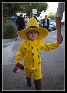 Curious George Man with the Yellow Hat Costume