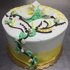 Easter lily cake - Mueller's Bakery!