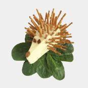 This cheesy Hedgehog is anything but boring and is sure to be a hit with kids! Animal Games, Food To Make, Hedgehog, Snacks, Plants, Fun, Recipes, Kids, Animals