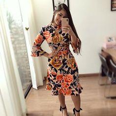 16 Trendy Ideas for moda femenina juvenil para bajitas Diva Fashion, Fashion 2017, Fashion Models, Womens Fashion, Summer Fashion Outfits, Modest Fashion, Nice Dresses, Dresses For Work, Summer Dresses