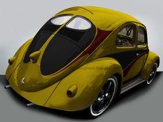 VW Beetle - Custom Paint