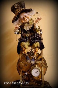 Yelena Mihailova Time Keeper-I'm facinated by time, so this doll is right down my alley! :-)