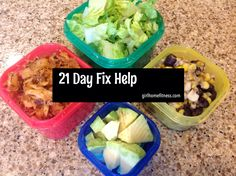 Everything 21 Day Fix...how to get started, traveling, meal prep and much more! All in ONE spot!