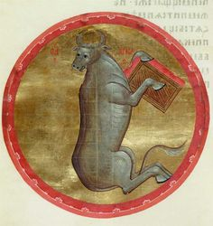 The Calf of St. Luke, 1400Andrei Rublev - by style - Byzantine