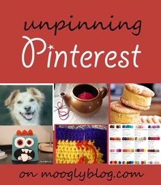 Unpinning Pinterest - the best pins right now! on mooglyblog.com -- love the bag of yarn