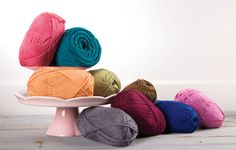 2. Favorite summer yarn - all of them!