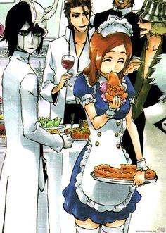 Oooohhhhh....Ulquiorra x Orihime.... I still don't see the ship