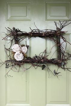 Rectangle wreath