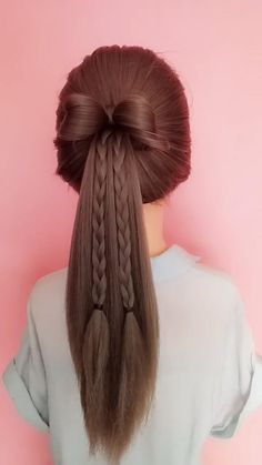 Mommy Hairstyles, Open Hairstyles, Cute Girls Hairstyles, Easy Hairstyles For Long Hair, Formal Hairstyles, Headband Hairstyles, Summer Hairstyles, Wedding Hairstyles, Hair Scarf Styles