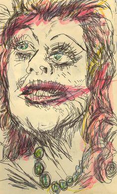 copyright 2011 Taylor Hubbard / Old Sketchbooks