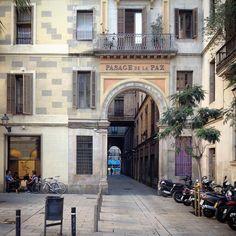 Passatge de la Pau - Barri Gòtic - Barcelona
