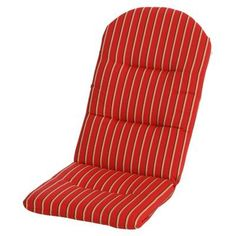 Phat Tommy Sunbrella Adirondack Chair Cushion Crimson   453 CUSHION .ADIRON.CRIMSON