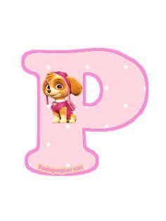 Continuamos compartiendo las más lindas letras de Paw Patrol o Patrulla Canina, otorgándote la posibilidad de descargar todo el abecedario de Skye, o simplemente optar por obtener las letras que pr…