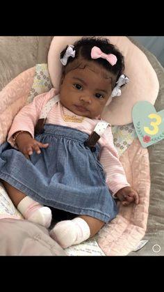 Cute Mixed Babies, Cute Black Babies, Beautiful Black Babies, Cute Little Baby, Pretty Baby, Little Babies, Cute Babies, Newborn Black Babies, Black Baby Girls