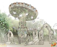 Wild Asia concept art, Chessington World of Adventures