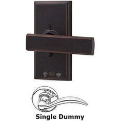 weslock door hardware elegance utica levers universally handed single dummy lever woodward plate - Weslock
