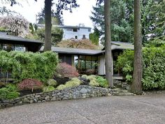 "Mid-Mod Pick of the Week: 1965 Hillsdale Japanese Style ""Garden Home"" designed by William Fletcher. Open plan, walls-of-windows, and shoji screens! Very cool! 3/2, 2941sf, $639,900."