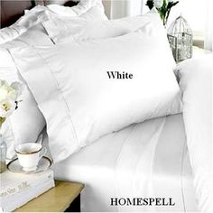 "Homespell Egyptian Cotton 3 - Pc Duvet Cover 500TC Solid Sateen White (Queen). by Homespell. $59.99. Machine wash cold or warm, tumble dry on low.. 100% Egyptian Cotton. Duvet Cover 500 Thread Count. Full/Queen set measures 90"" W x 92"" L and includes two standard shams 20x26"" each.. Machine Wash. Made In Egypt.. Wrap Yourself In the softness of the luxurious 100% Egyptian cotton Duvet cover like those found in excellent hotels. Grown mainly in the Nile Valley, Egyptian cotton is ..."