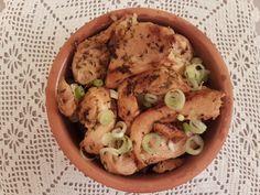 Blanc de poulet à la grecque Potato Salad, Potatoes, Cooking, Book, Ethnic Recipes, Meat, Chicken Breasts, Food, Recipes