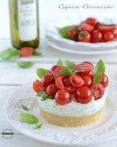 Caprese cheesecake
