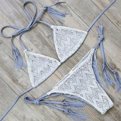 Crochet String Bikini – Girl Heaven