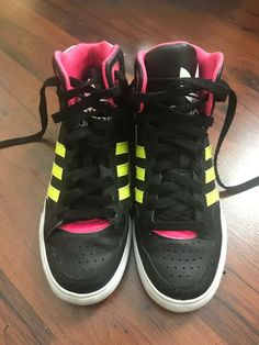 db8f910387e Used Adidas Women High Top Shoes Size 35.5  fashion  clothing  shoes   accessories