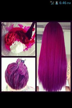 cool hair color!