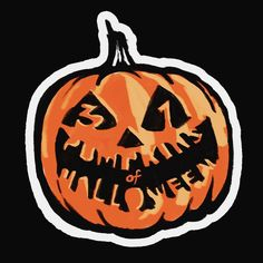 Finally made a logo for this pumpkin project I've been working on. I'm calling it the 31 Pumpkins of Halloween! I was a little unsure if that was the best name for it but it is what it is. I cutout 31 pieces of wood with my trusty jigsaw and then painted a unique pumpkin on each one.  The reason for this project was to challenge myself to see if I could make it to 31 and also to start with a small idea and turn it into something grander. Which now they're part of an animated/live action…