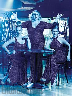 Brittany Snow, Rebel Wilson, & Anna Kendrick - promo for Pitch Perfect 2