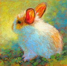 "Daily Paintworks - ""Apricot"" - Original Fine Art for Sale - © Rita Kirkman"