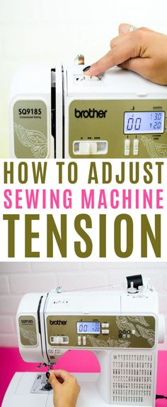 Ensuring  that you have the proper tension on your sewing machine is extremely  important.The entire success of your project can depend on tension. Get our  tips here. . #sewing #sewingideas #sewingprojects  #easysewingideas #sewingprojectsforbeginners #sewingforbeginners  #sewingprojectsforteens Christmas Gifts For Teenagers, Cool Gifts For Teens, Birthday Gifts For Teens, Diy For Teens, Crafts For Teens, Sewing Basics, Sewing Tips, Sewing Hacks, Sewing Tutorials