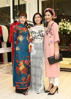 Dàn sao Việt diện áo dài đi sự kiện hình ảnh 9
