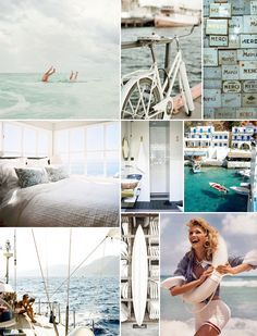 this pretty much encapsulates all my summer dreams! summer inspiration board | camille styles