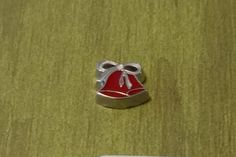 1 - Christmas Bells Charm - Silver Tone - Used in Floating Hearts, Lockets, Pendants Jewelry - 9mm by GailsGiftHut on Etsy
