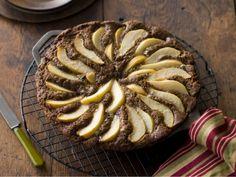 Ginger-Pear Skillet Cake